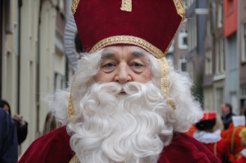 Sinterklaas is in town...photo courtesy of Michell Zappa