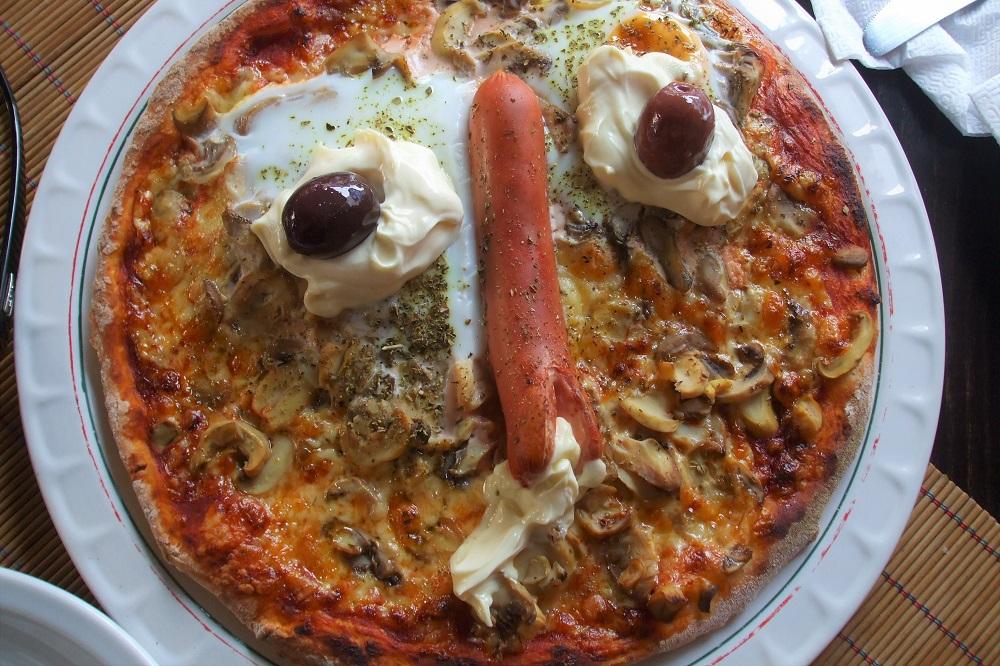 Pizza Macedonia Lake Ohrid