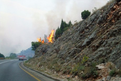 Montenegro Roadside Fires (2)