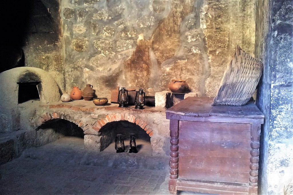 Kitchen at Santa Catalina Monastery, Arequipa, Peru