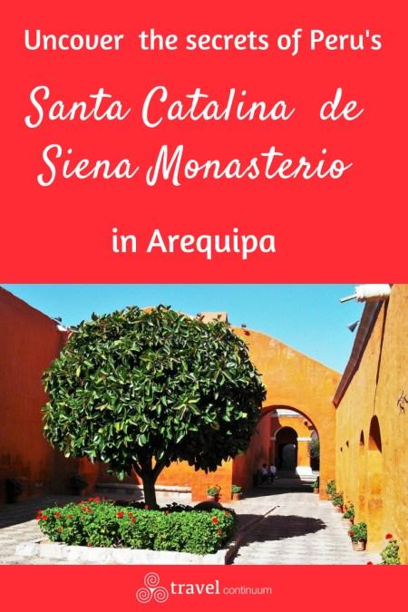 Santa Catalina de Siena, Arequipa,Peru