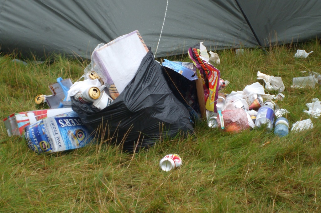 Fun and environmental responsibility are often uneasy partners at festivals