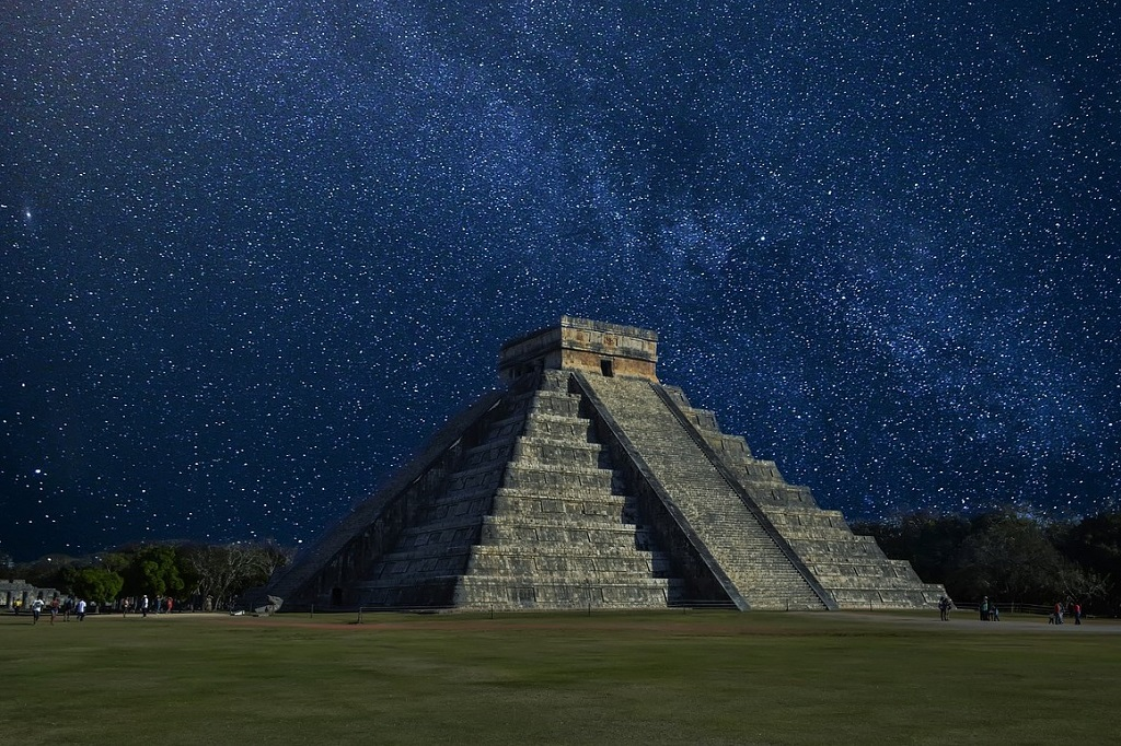 Chichen Itza Mexico, where the Snake of Sunlight appears at the equinoxes