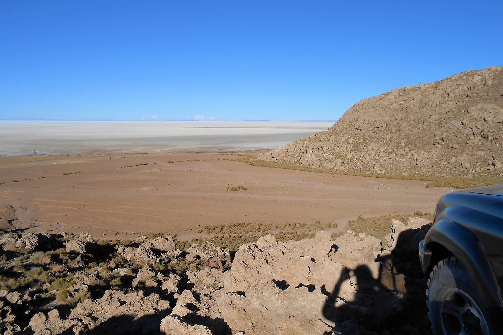 The vast and isolated landscapes of El Salar de Uyuni