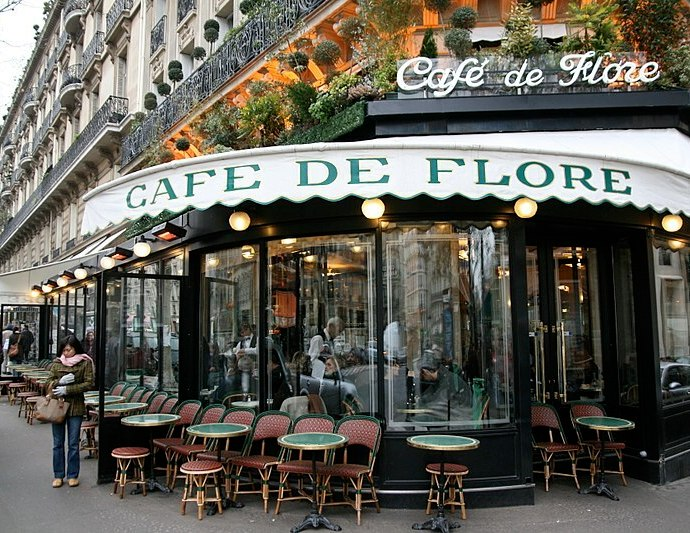 France reopened Cafe and bistro terraces