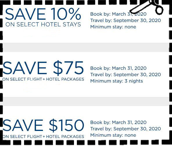 Travelocity 2020 Flight and Hotel Coupons – Travel Coupons Online