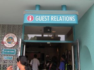 WDW Guest Relations