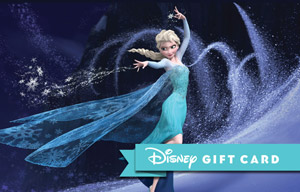 Disney Else The Snow Queen Gift Card
