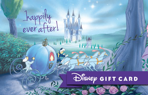 Disney Happily Ever After Gift Card