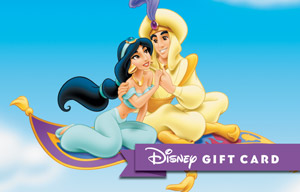 Disney Meant To Be Jasmine Gift Card
