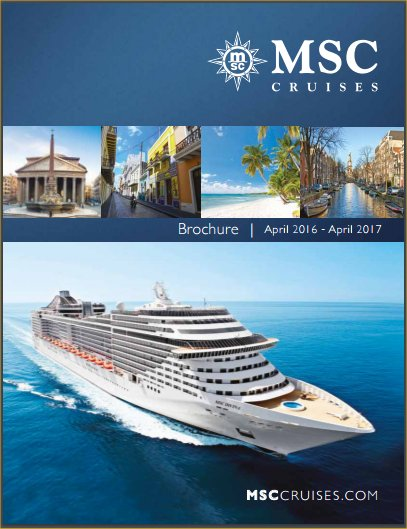 MSC April 2016 - April 2017 Brochure