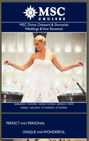 MSC Weddings and Vow Renewals