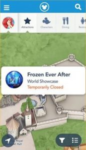Frozen Ever After Closed