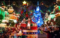 Christmas Decorations at the Walt Disney World Resort