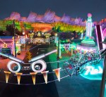 'CARS' CHARACTERS IN CAR-STUME FOR HAUL-O-WEEN DURING HALLOWEEN TIME AT THE DISNEYLAND RESORT