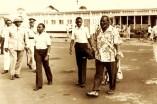 Jomo Kenyatta and his family in Mombasa