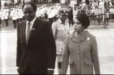 Mwai and a fashionable Lucy Kibaki