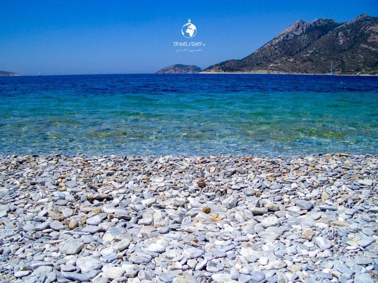 Spiaggia di Agios Pavlos, Amorgos, Grecia
