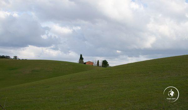 Itinerario Val d'Orcia: colline
