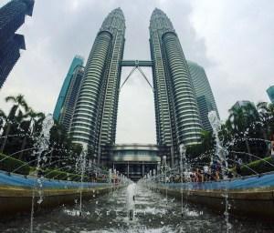 Le Petronas Towers a Kuala Lumpur