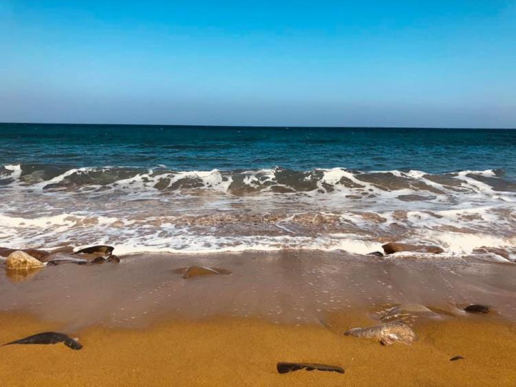 Il mare di settembre nelle cicladi