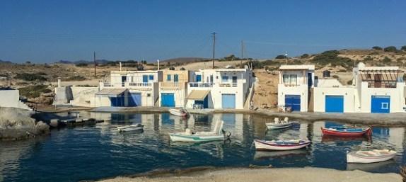 Grecia, un paese di pescatori a Milos