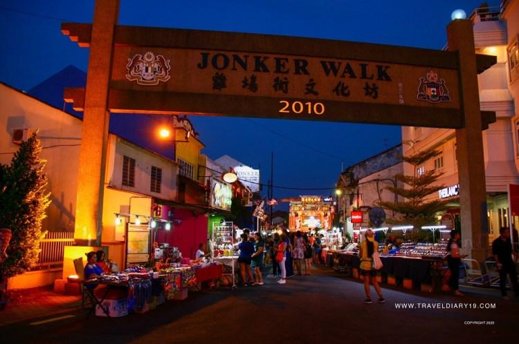 Jonker Walk a Malacca