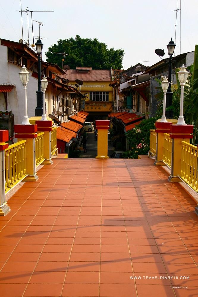 Ponte del river di Malacca
