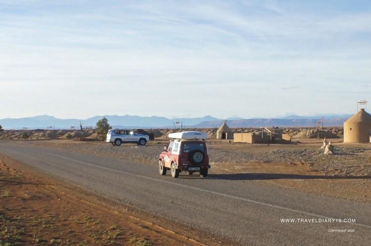 Strada in Marocco