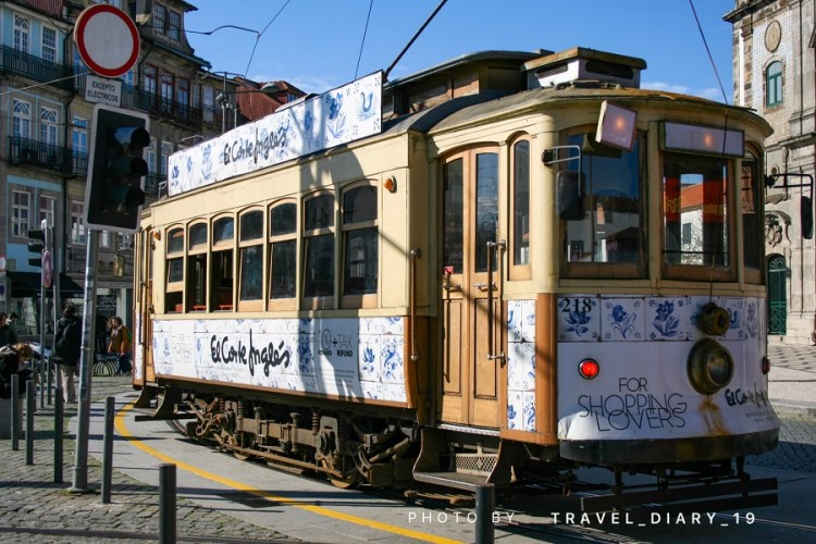 Tram a Oporto