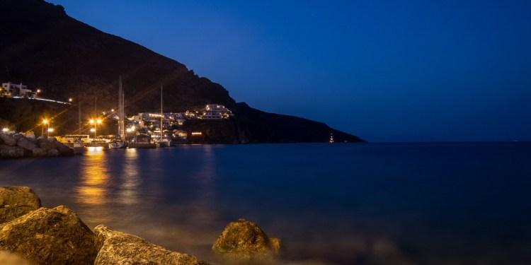 Luci della sera di Tilos, Dodecaneso