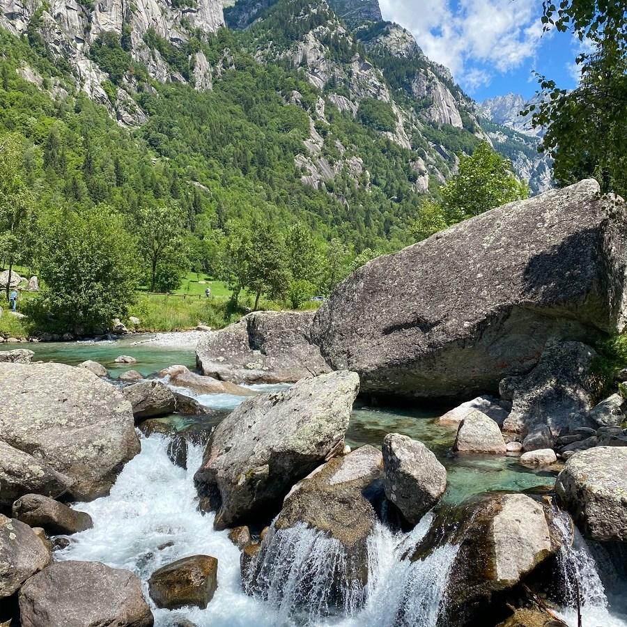 Torrente Mello, cascata