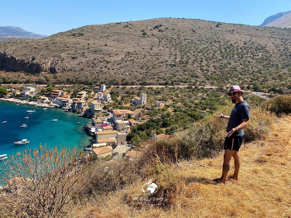 Grecia, panorama di Limeni