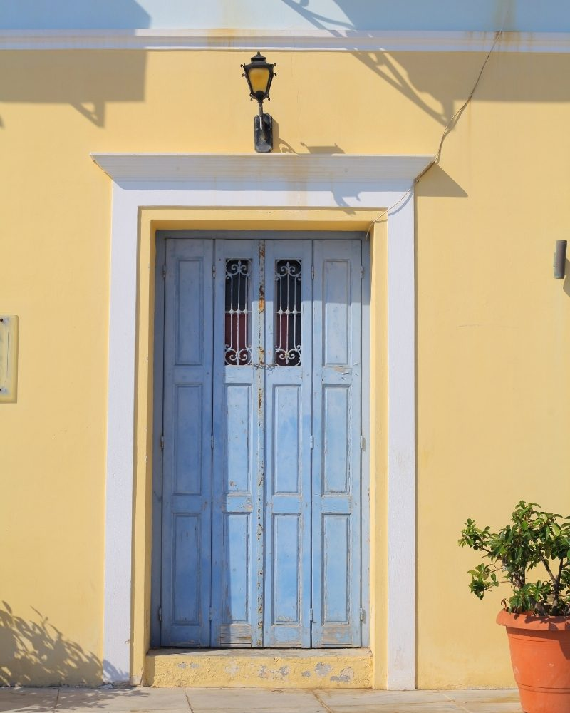 Door in Spetses