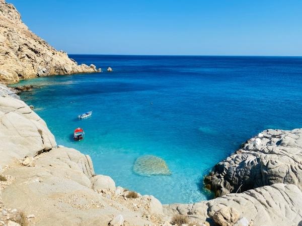 Mare dell'isola di Ikaria