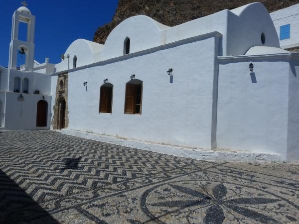 Chiesa a Tilos, isola del Dodecanneso