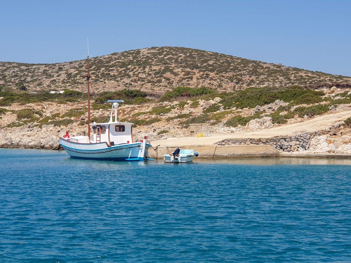 Grecia: Levitha, l'isola disabitata vista dal mare