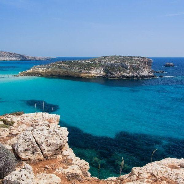 Panorama di Lampedusa