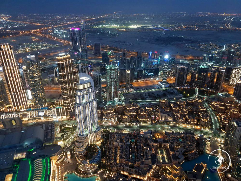 Panoramica di Dubai Marina
