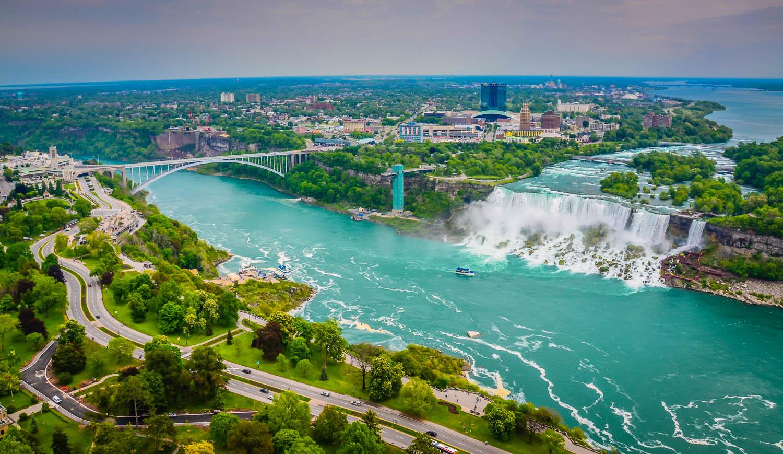 Niagara Falls At Night Wallpaper Hd Niagara Falls One Of The Largest Waterfall In The World