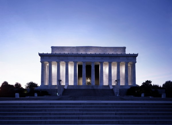 Famous Landmarks in the Lincoln Memorial Washington