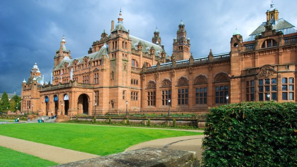 Kelvingrove Art And Museum Glasgow Scotland