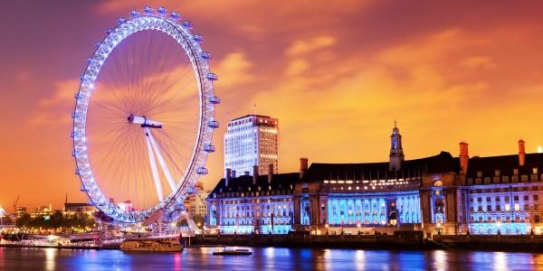 London Eye Place Beauty Of City
