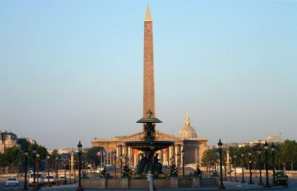 Place De La Concorde Famous Square In Paris