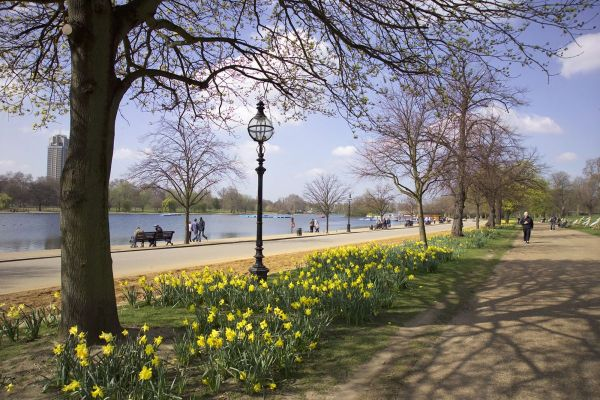 Fascination Of Hyde Park London England