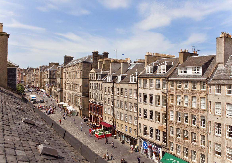 Royal Mile Edinburgh Scotland  Traveldiggcom