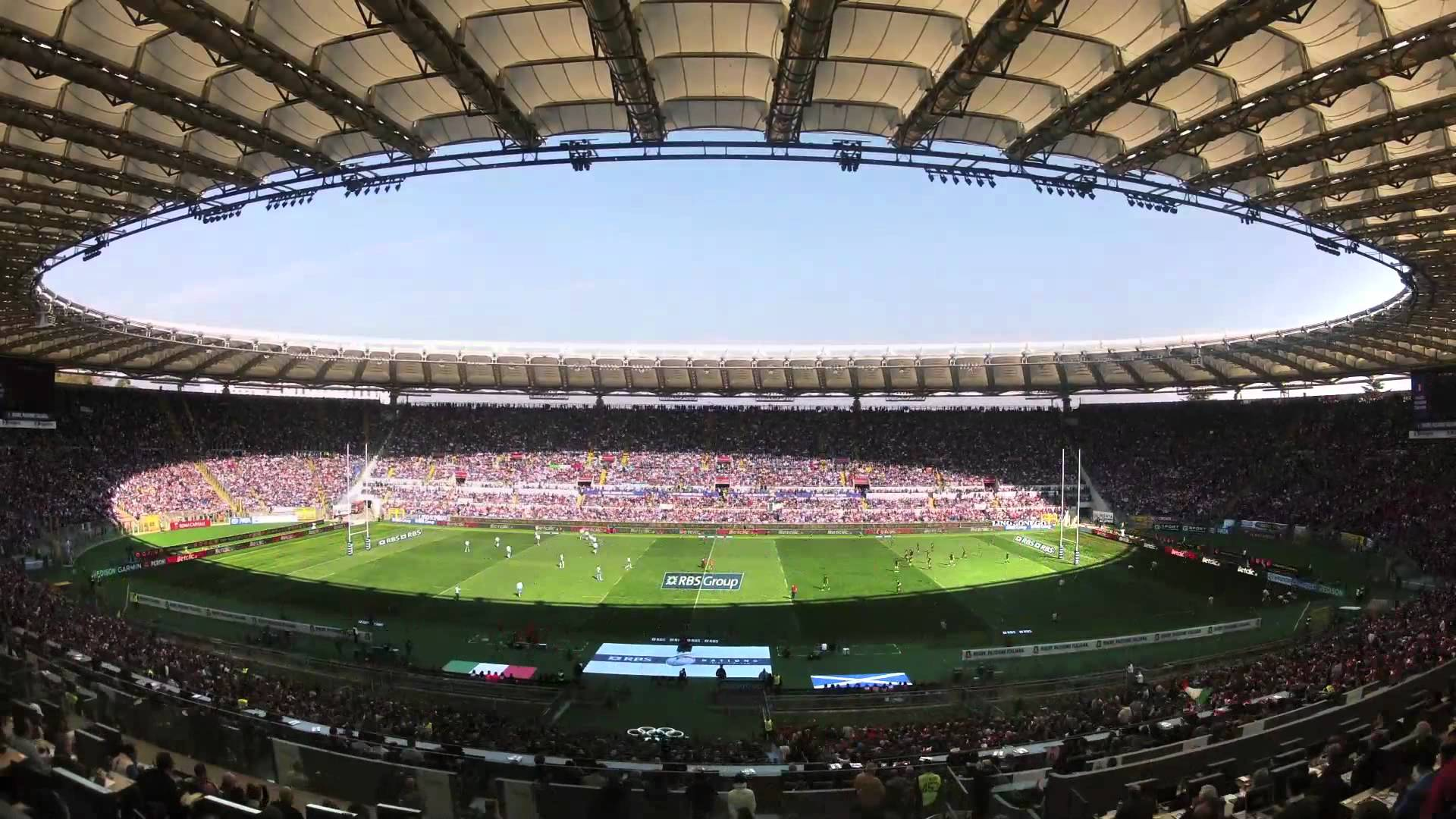 "Stadio Olimpico, Stage For Fierce Duel ""Derby Della"