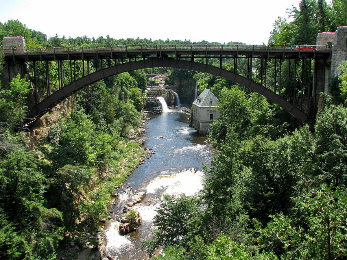Ausable Chasm The Oldest Natural attractions in the