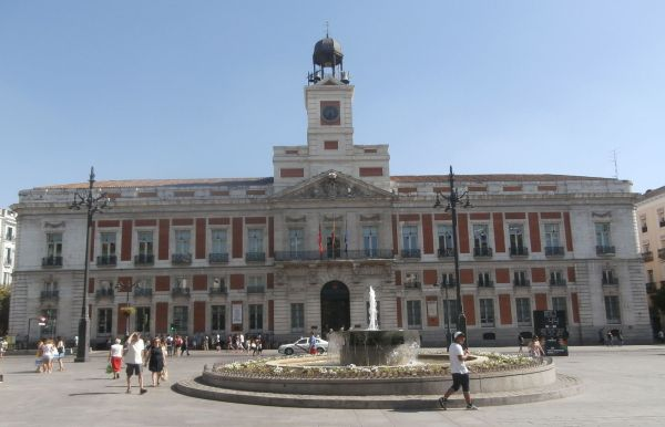 Puerta Del Sol Place Start Journey In