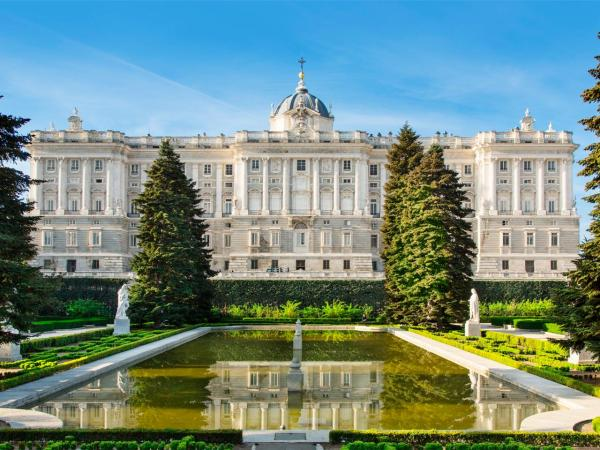 Royal Palace Of Madrid Largest And